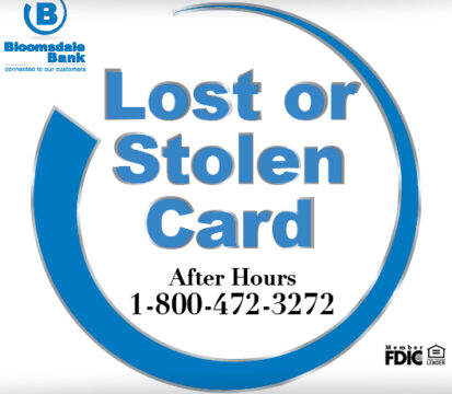 Lost or Stolen Card Info
